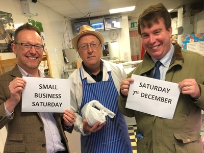 Powys residents urged to shop local for Small Business Saturday