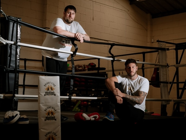 Boxing club urges people to talk about mental health