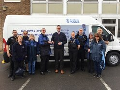Telford Street Pastors to share new van with police