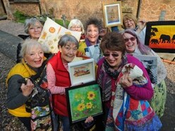 Crafty skills down to a fine art at exhibition near Newport