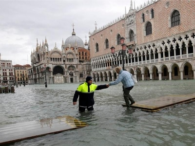 Vulnerability of Venice exposed by devastating series of floods