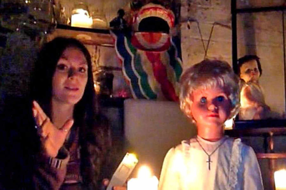 Watch: Shropshire paranormal investigator's spooky doll video 'can make you ill'