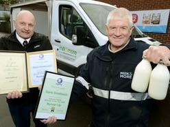 Final round for milkman Steve after 40 years delivering in Shifnal