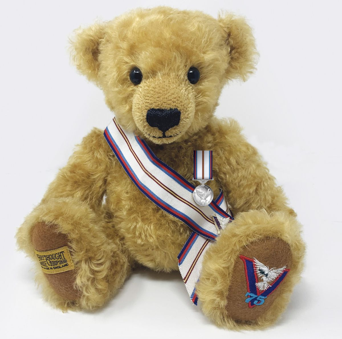 'Victor' The Victory Teddy Bear