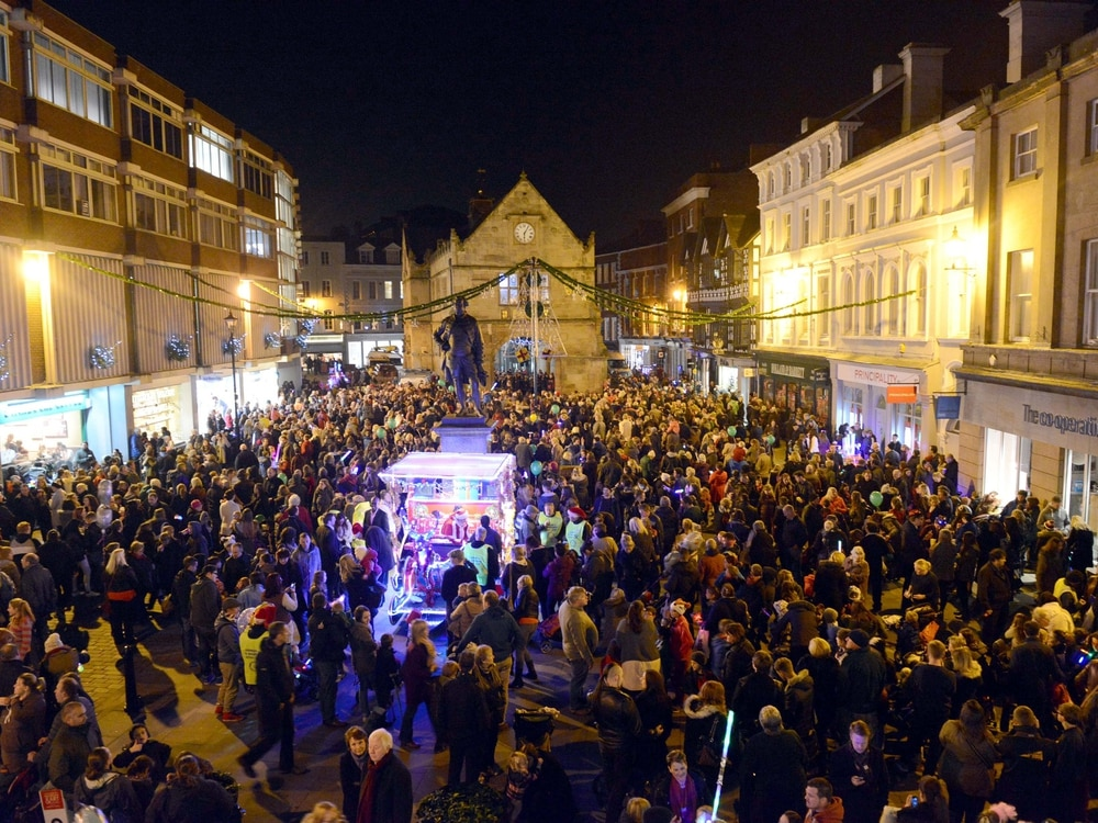Shropshire Christmas light switch-ons: Find out when your lights will be turned on