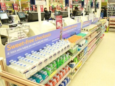 Change in checkout policy linked to 'dramatic reduction' in unhealthy purchases