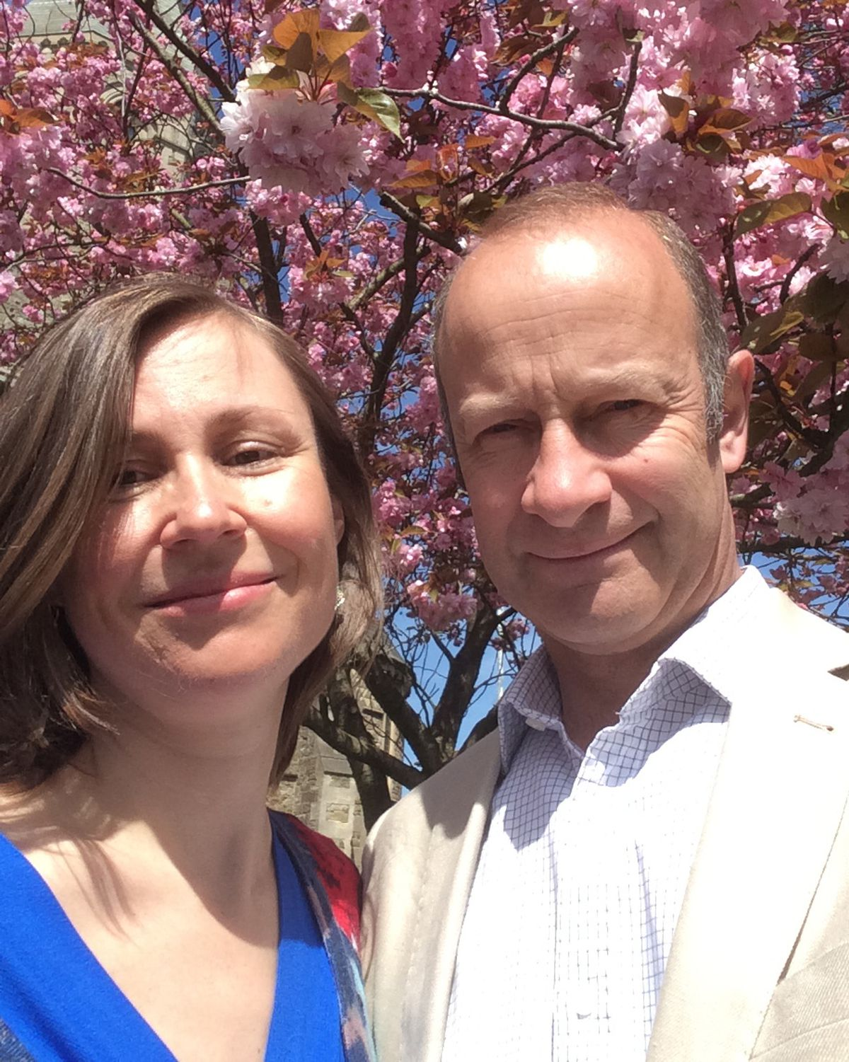 Henry Bolton with his wife Tatiana