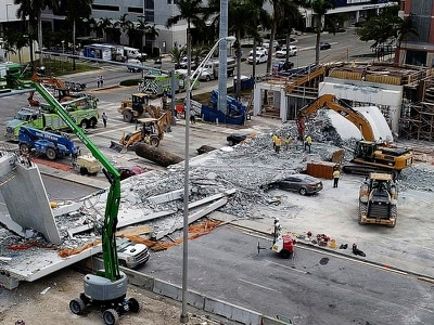 'Key design change' for bridge that collapsed in Miami