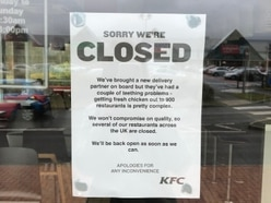 Five out of six Shropshire KFCs still shut due to delivery delays