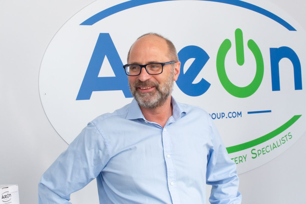 Mark Thompson, MD of Telford-based battery and energy storage pioneers AceOn