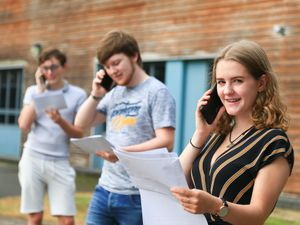 Students will be finding out their A-level results in just a few hours