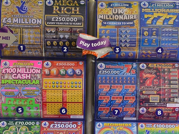Compensation claim against £60,000 scratch card thief