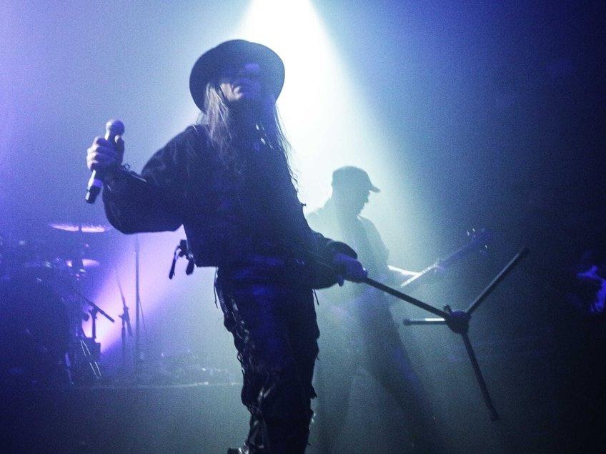 Fields Of The Nephilim rock Birmingham's O2 Institute - in pictures