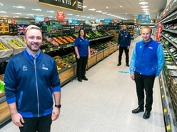 Market Drayton's first Aldi open for business