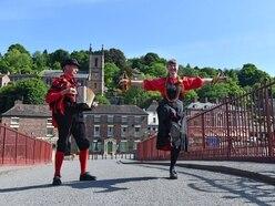 Ironbridge morris dancers still going strong
