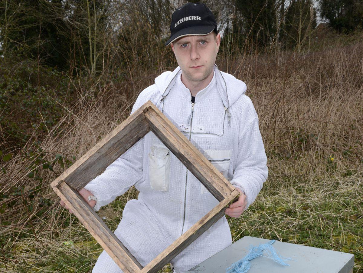 Beekeeper Nicholas Taylor