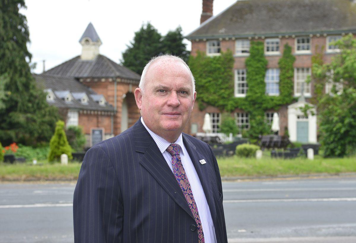 Richard Sheehan, Shropshire Chamber's chief executive