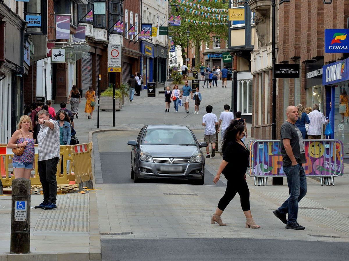 Shrewsbury town centre