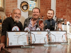 Cheers! Shropshire church brewery scoops trio of top awards