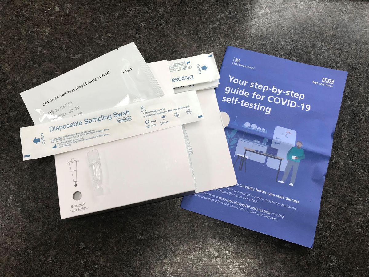 NHS Covid-19 self-testing kits