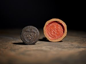 The rare 16th century seal