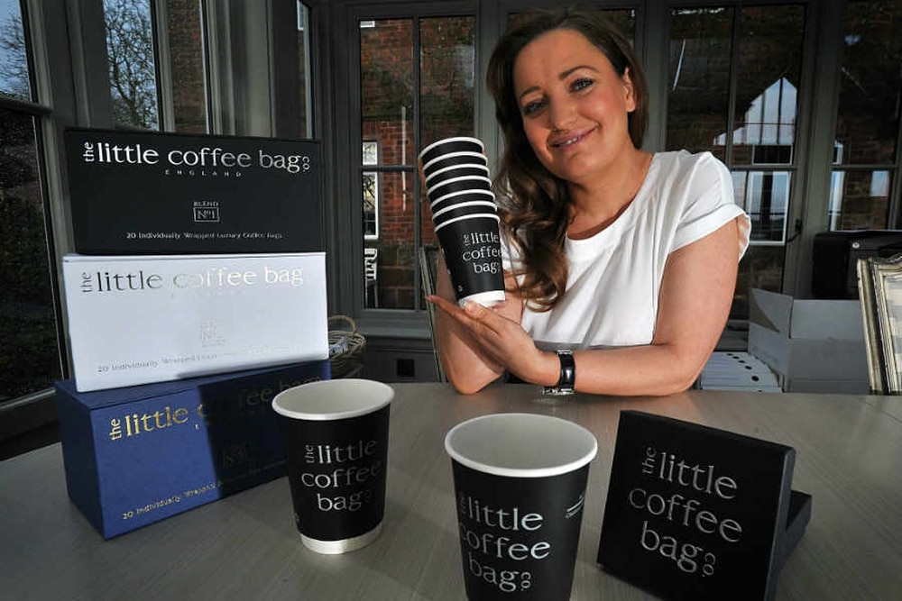 Shropshire Businesswoman Carrie Bags Dragons Investment