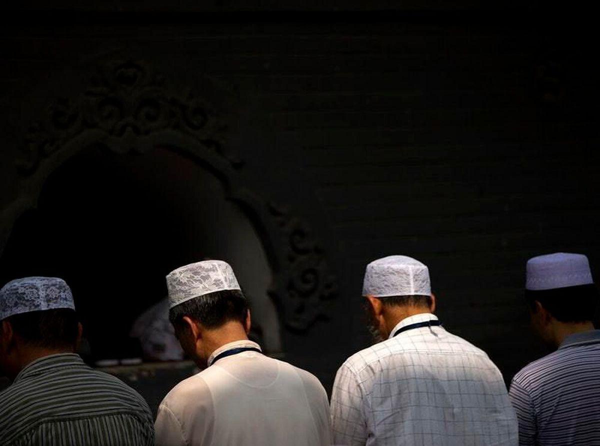 Muslims at prayer
