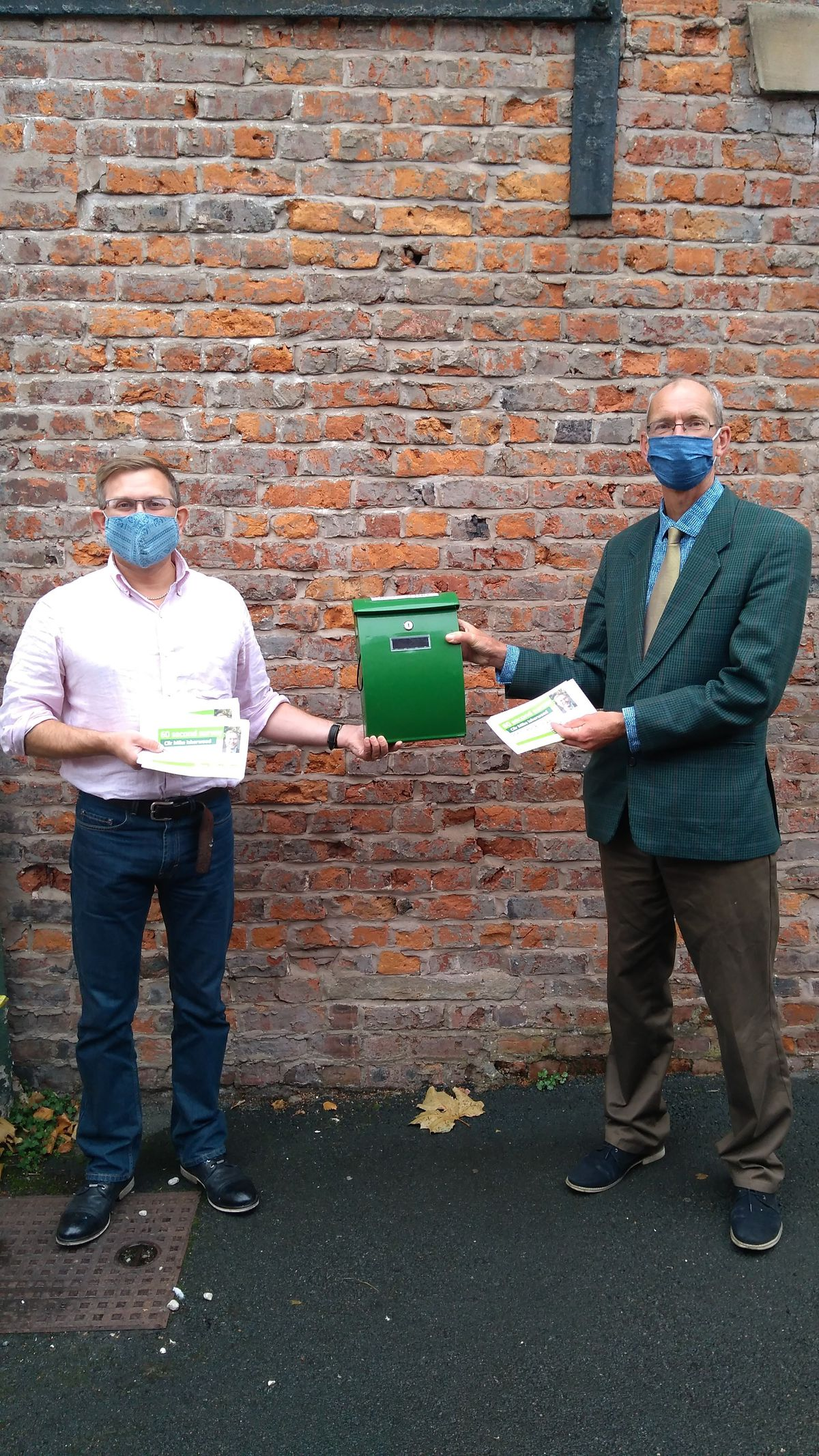 Councillor Mike Isherwood and Councillor Duncan Kerr have launched the surveys
