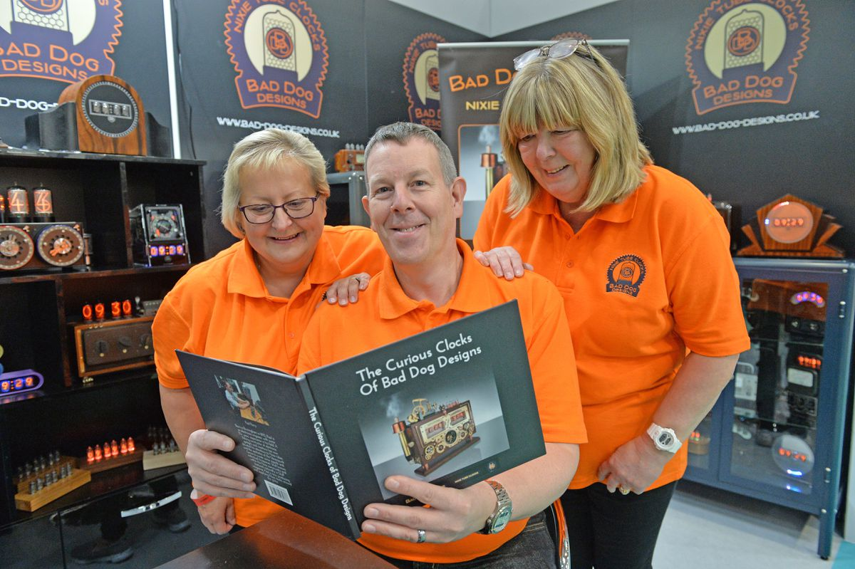Bad Dog Design from Staffordshire were among the exhibitors in 2020