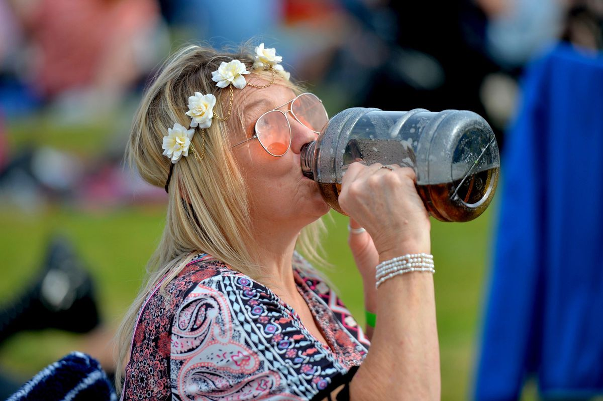 Around 1,300 people attended the Water's Edge Festival.