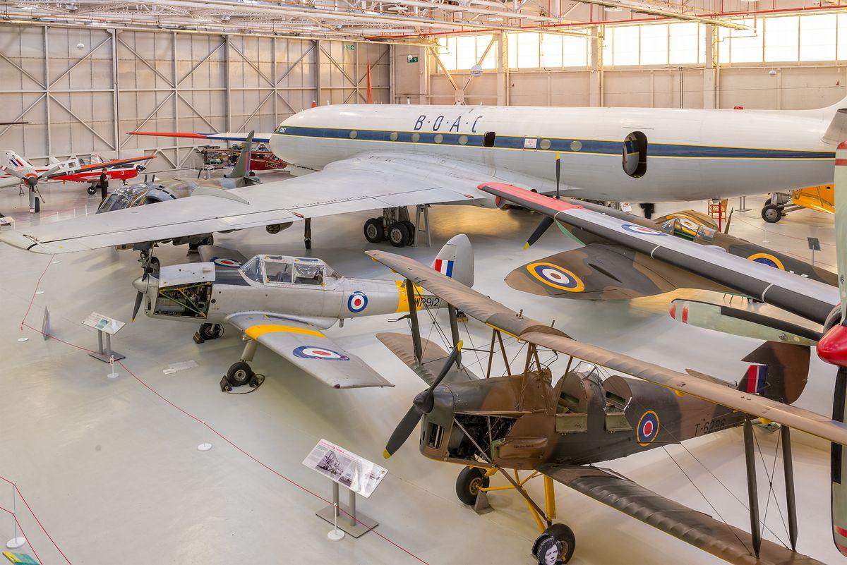 The de Havilland chipmunk the Duke of Edinburgh used to go on his first solo flight