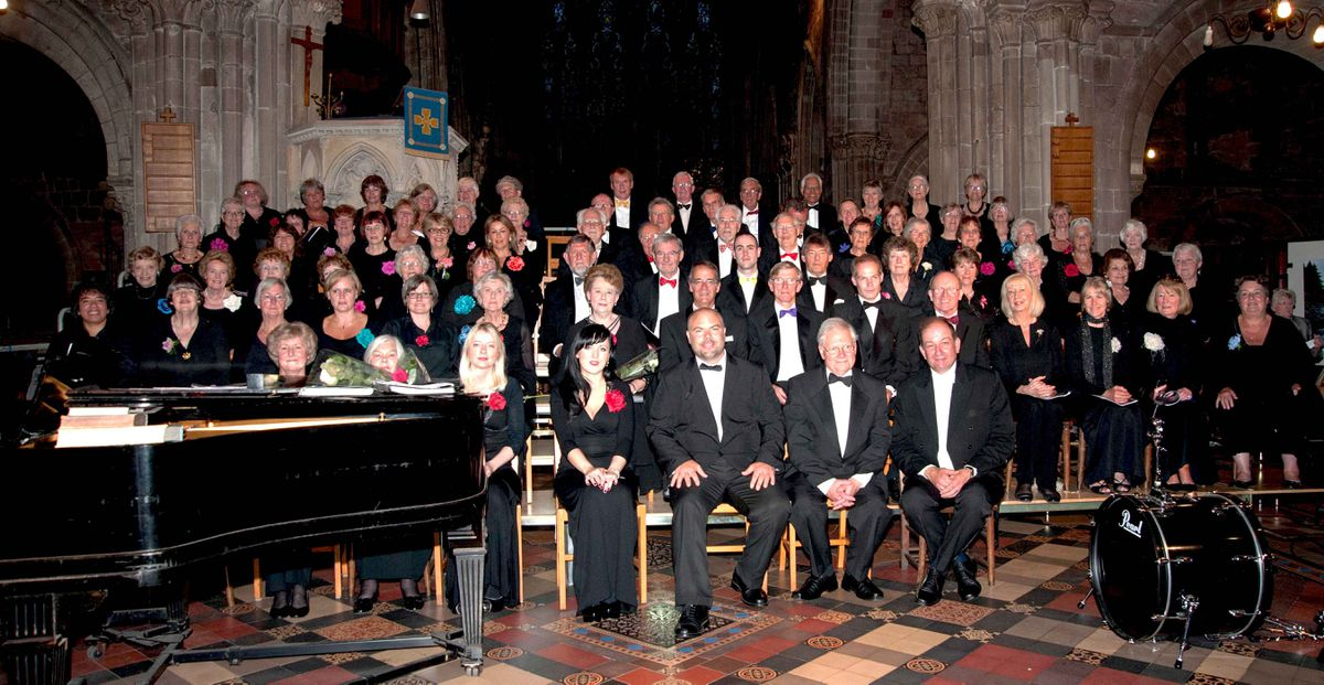 Shrewsbury Choral Society presents its seasonal celebration at St Mary's Church, Shrewsbury on December 18