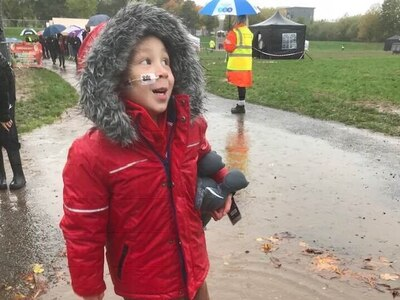ZacFest shines bright despite torrential rain as hundreds turn out to support Broseley youngster - with pictures