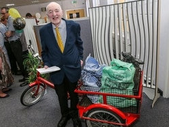 Award for mail man Alan still delivering post after 50 years