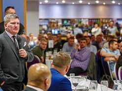 Ricky Hatton a big hit at Shrewsbury Town's Greenhous Meadow
