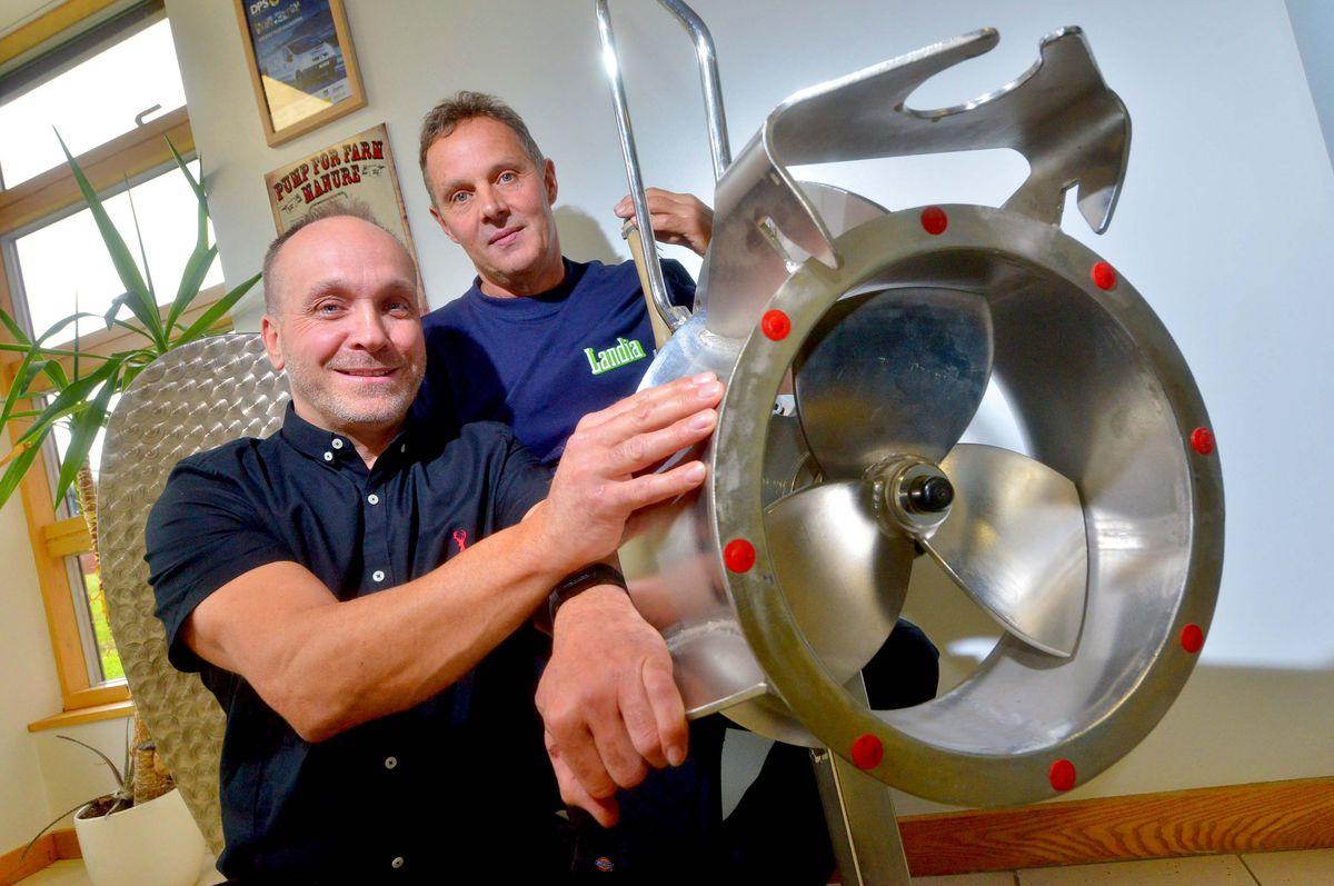 Senior engineers Paul Broadhurst and Dave Baldock