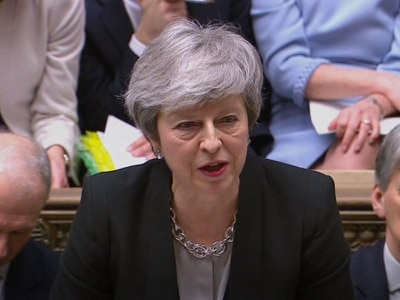 People's jobs and futures are in your hands over Brexit, PM tells MPs