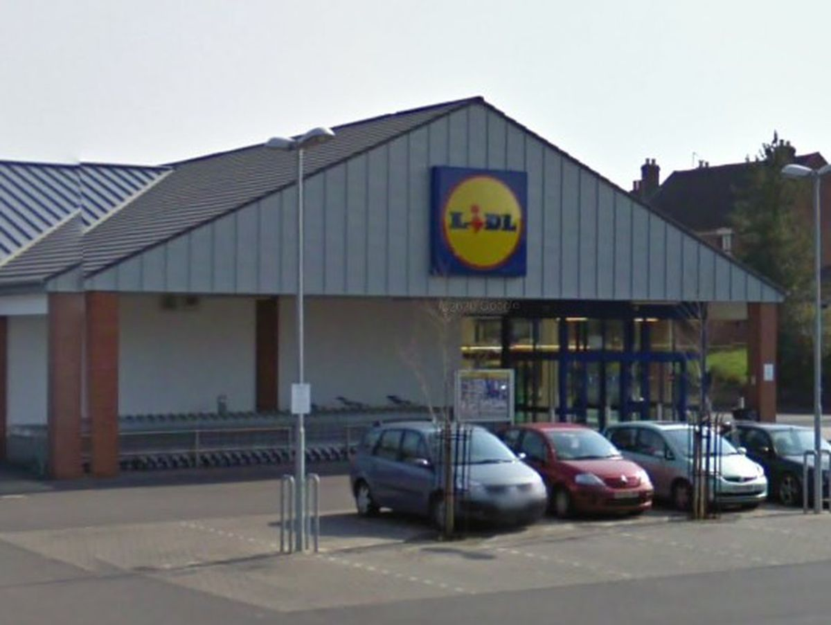 The Lidl in Hadley. Photo: Google