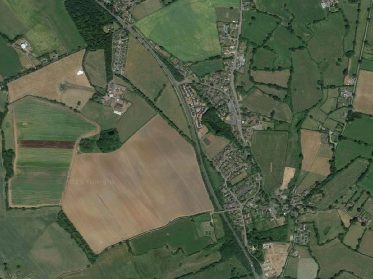 The crash happened on the A41, pictured near Hinstock. Photo: Google
