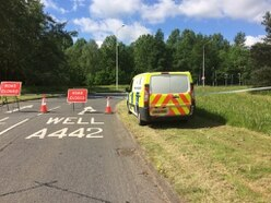 Ketley Brook island cordoned off amid Telford police investigation