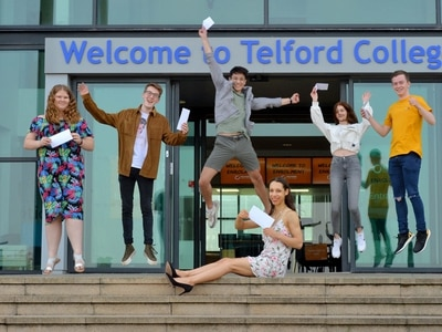 Shropshire's class of 2020 hailed for resilience on historic results day