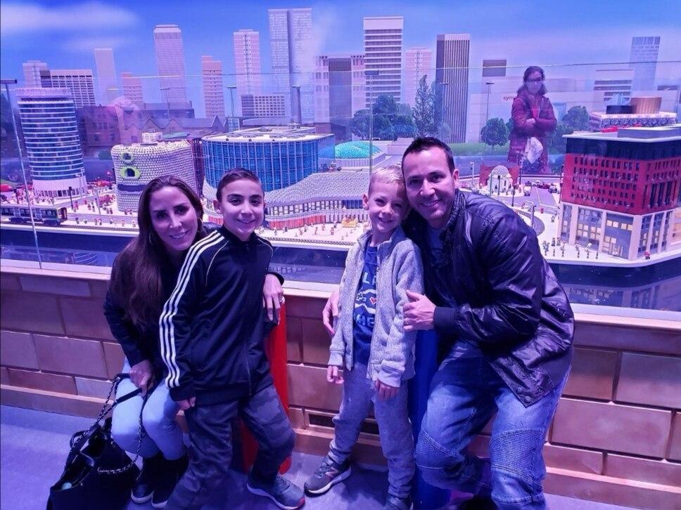 Backstreet Boys member visits Legoland Discovery Centre ahead of Birmingham show