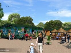 Exotic Zoo Wildlife Park plan for Telford Town Park