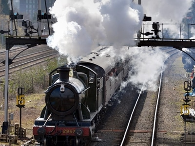 Steam back at Severn Valley