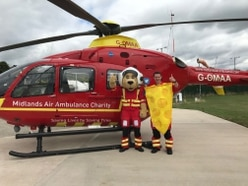 Midlands Air Ambulance Charity urging people to make fundraising a brie-ze