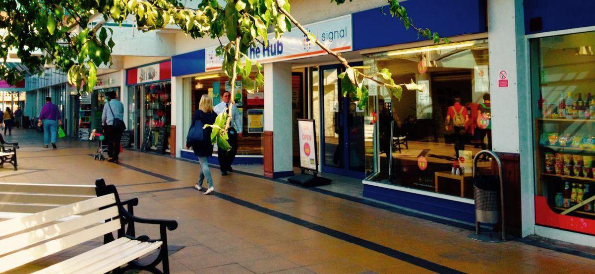 The Hub in Shrewsbury