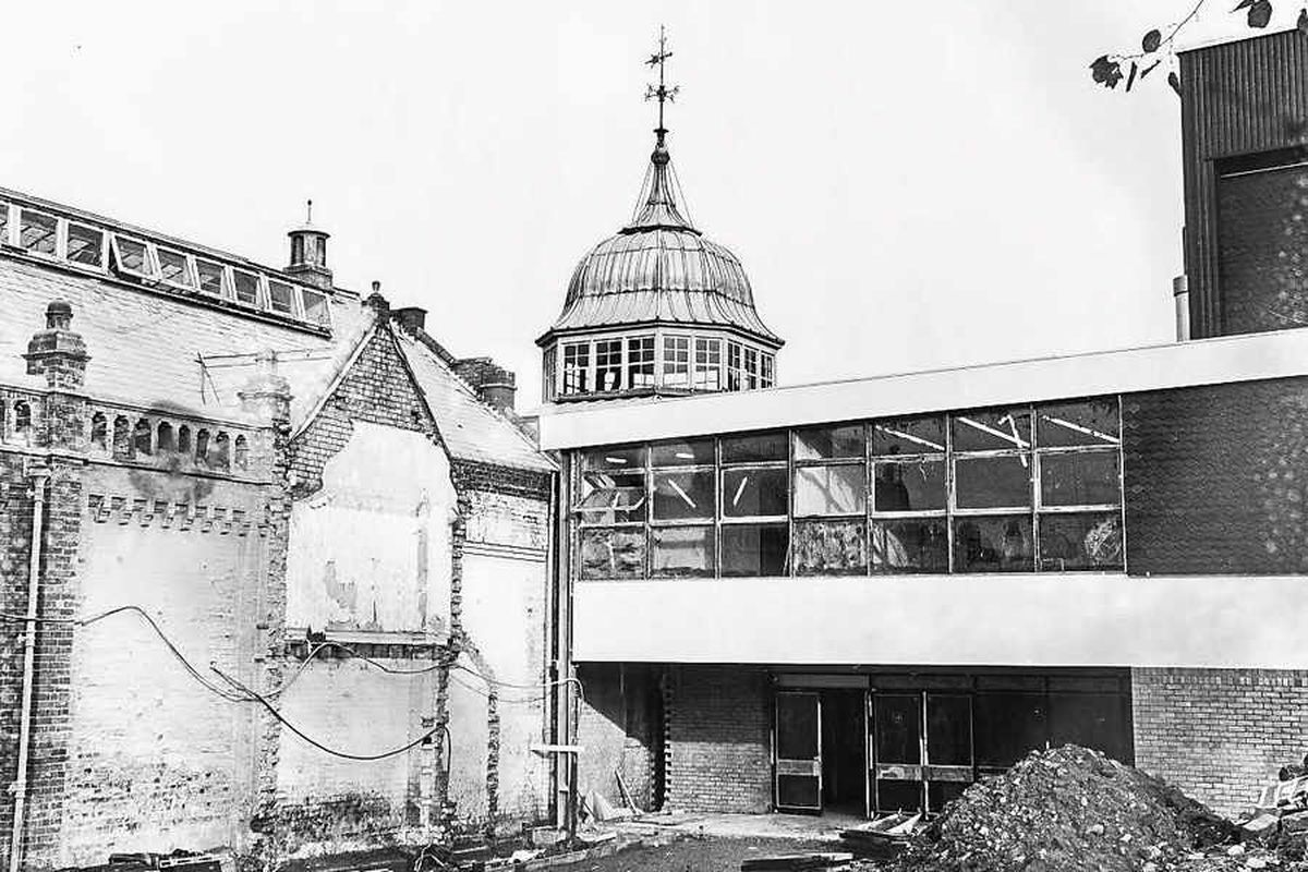 One of the archive pictures of the Jubilee Baths