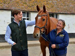 Alexander Newport with Denise O'Reilly