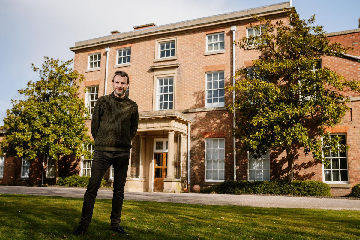 Glyn Jones has bought Mount House, the birthplace of Charles Darwin