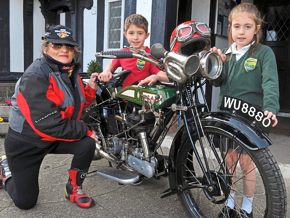 Shropshire Classic and Vintage Motorcycle Show revving up to honour Ron